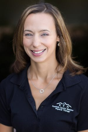 Meet the Foothills Sports Medicine Physical Therapist of the Month, Lynsey Schmidt.